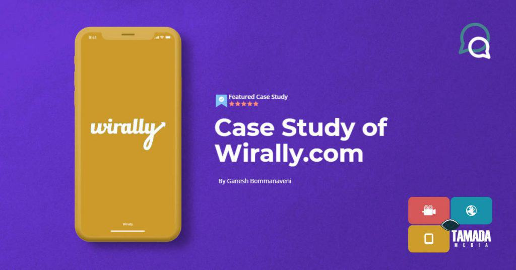 case study for wirally.com website