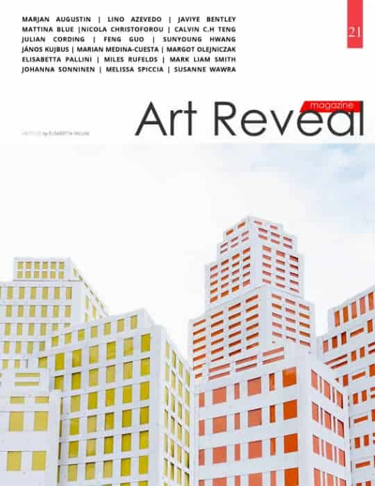 Art Reveal magazine cover pic