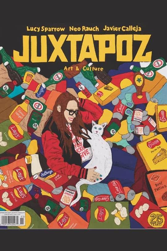 Juxtapoz magazine front cover