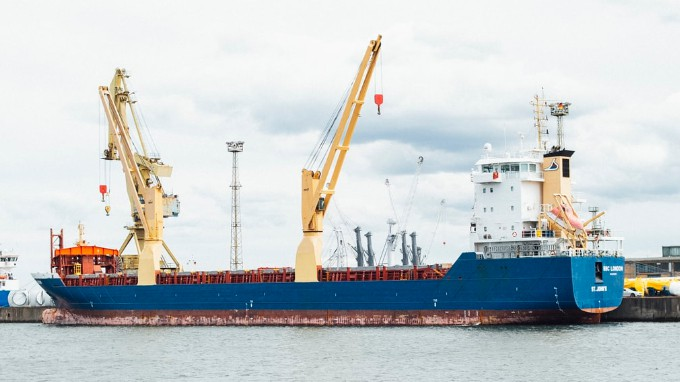 A Ship With Imported Products