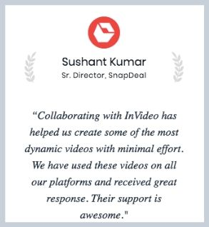 Testimonial From Snapdeal