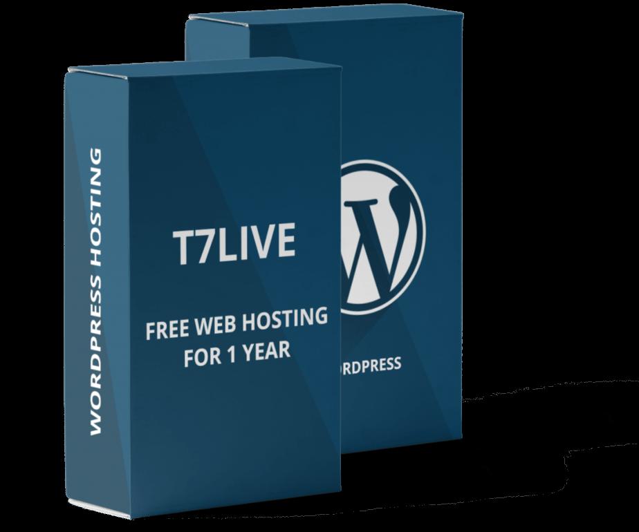 T7live WordPress Hosting Offer