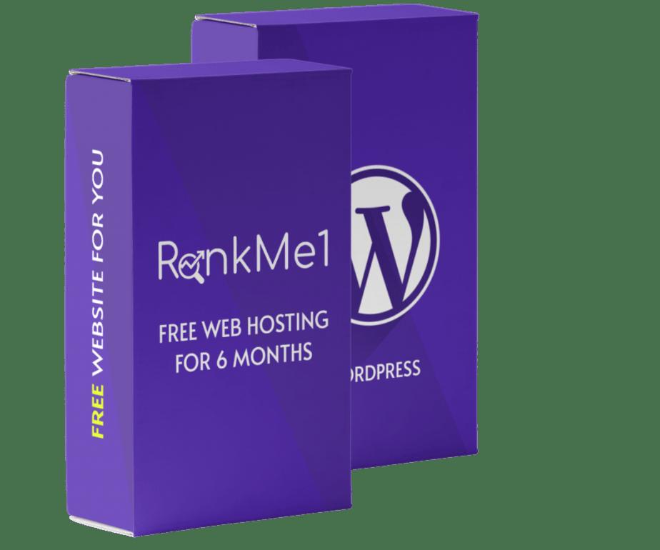 Rankme1 Web Hosting For 6 Months