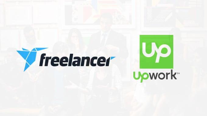 Freelancer And Upwork Logos