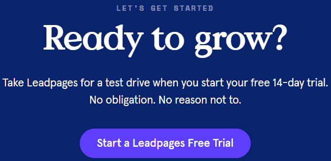 Leadpages Pricing Plans Link
