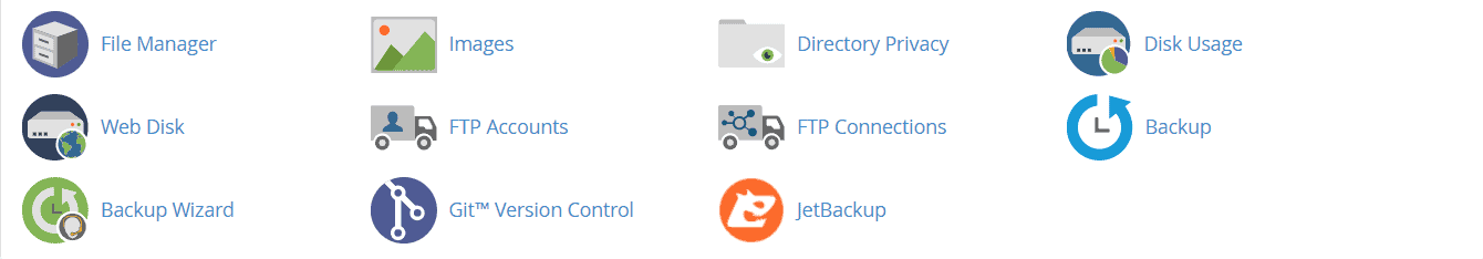 Cpanel File Manager And Other Options