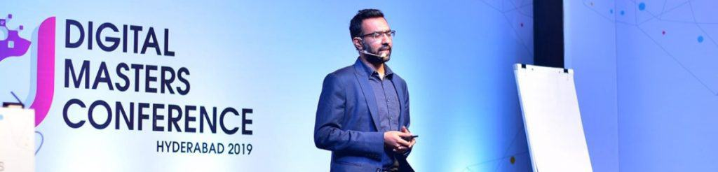 Digital Deepak At Digital Masters Conference