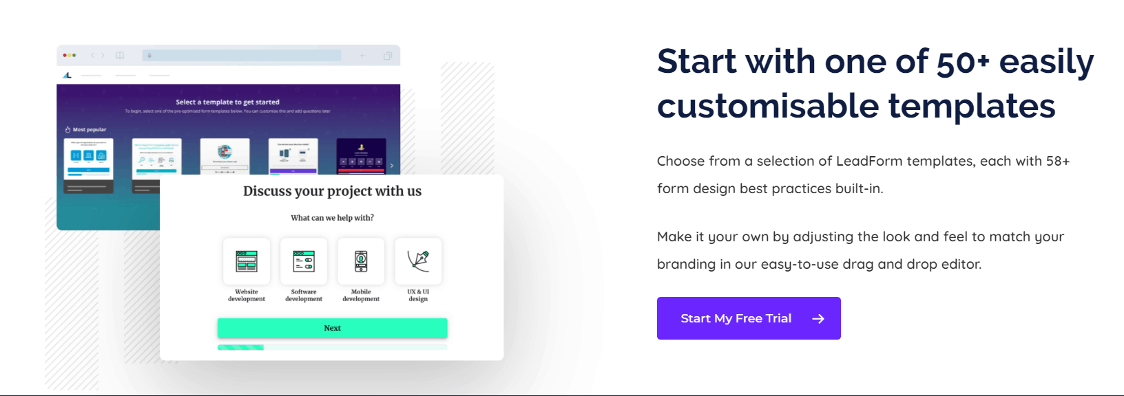 Leadformly Customizable Templates