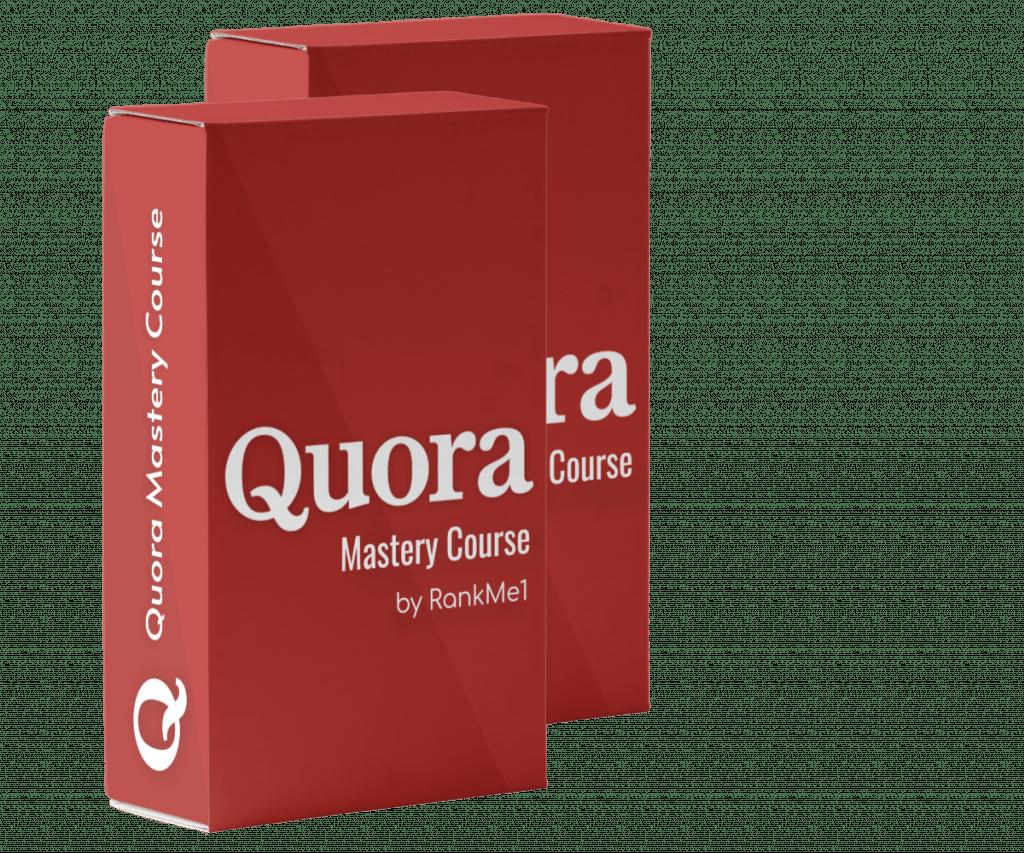 Quora Mastery Course